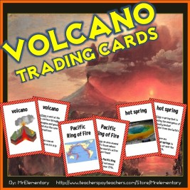 Volcano Trading Cards